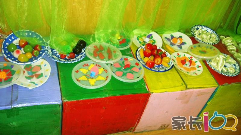 幼儿园亲子活动-diy水果沙拉