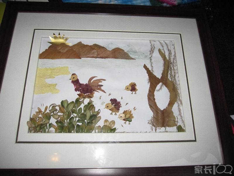 从幼儿园开始做第一幅画得奖起