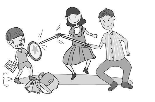 动漫 简笔画 卡通 漫画 手绘 头像 线稿 530_350