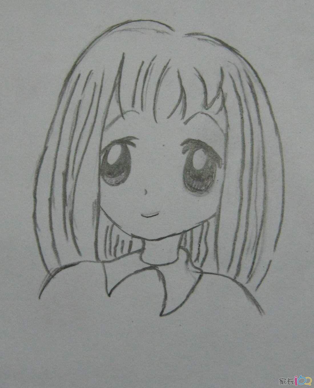 学画《卡通人物>
