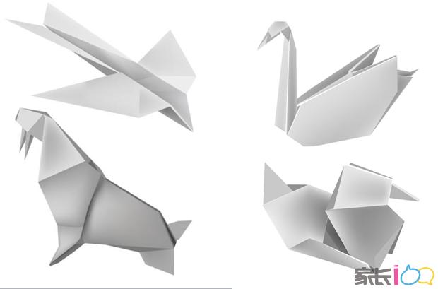 现场开设纸艺课堂,邀请折纸达人指导顾客现场diy简单易学的折纸作品