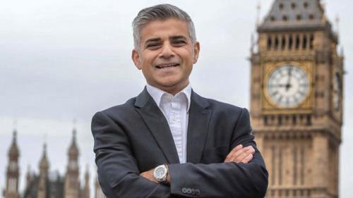 图为伦敦市长萨迪克·汗。(图片来源:法国欧洲时报网转自英国BBC)