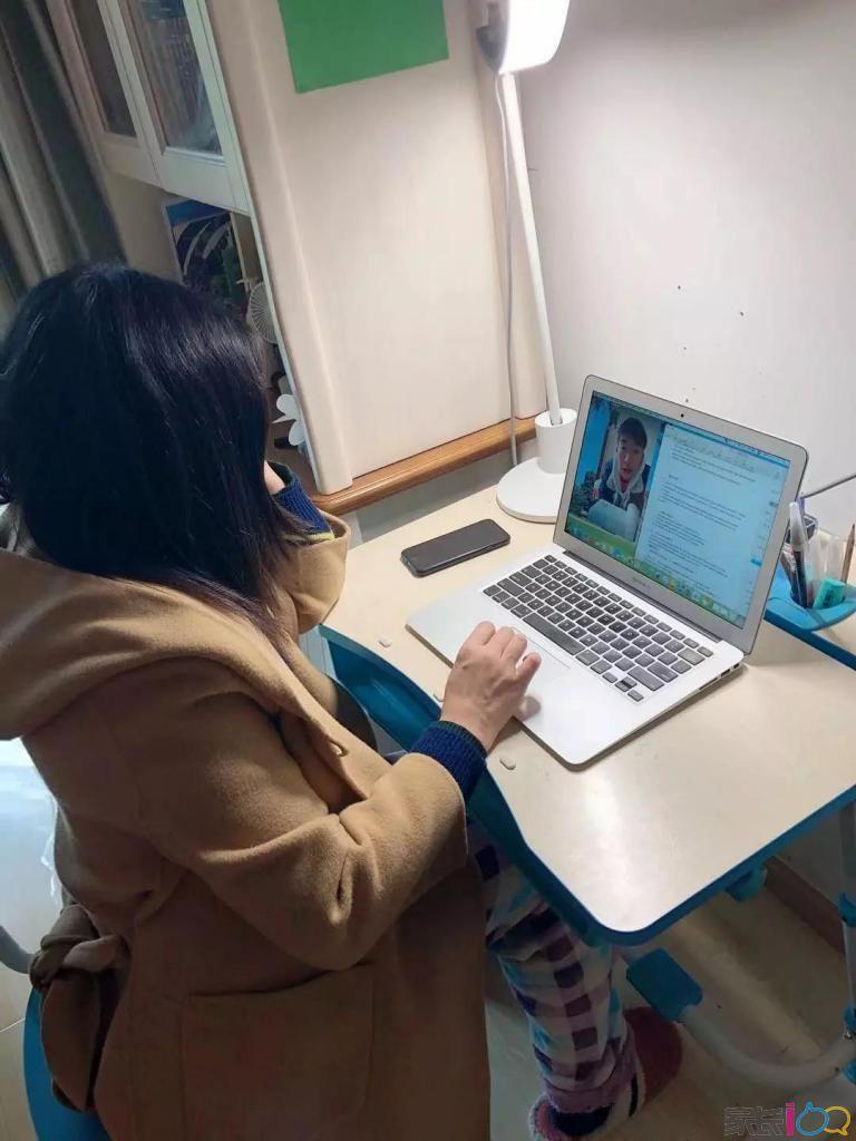 封城不封爱,停课不停学,离校不离师------美加分校高中部开展网络在线教学活动