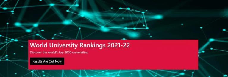 CWUR 2021-22世界大学排名发布!美国大学依旧霸榜,中国高校表现亮眼