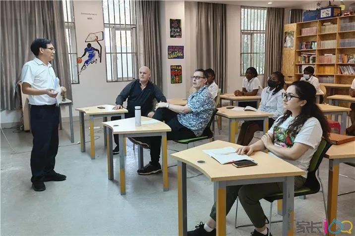 凝聚外籍教師 共話規范教學 | 武漢為明國際高中召開全體外教工作會議
