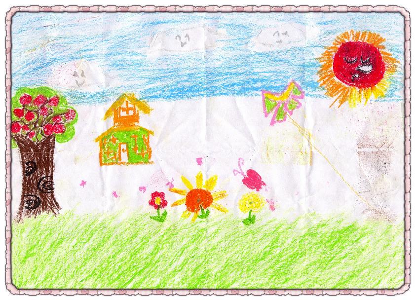 月亮天使幼儿园手工,绘画作品秀(不断更新中……)