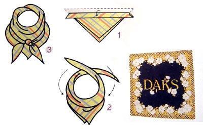 小丝巾时尚系法