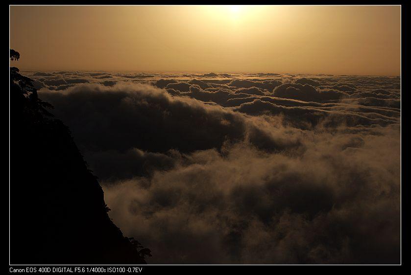 云雾幻彩背景素材