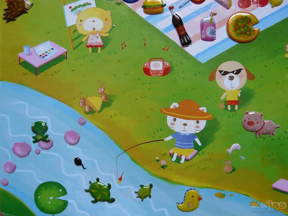 研究表明:宝宝玩撕贴游戏,能有效锻炼手指的灵活性,促进脑部发育,场景性贴纸游戏,更能促进宝宝多种智能的全面发展。 格曼妈妈智能反复贴早教专家联合推荐,风靡日韩、广受妈妈们和孩子们推崇与喜爱的神奇贴纸!!!格曼妈妈贴纸采用最新贴纸技术,3D立体贴纸可以在背景贴板上反复撕贴(和磁性贴一样但价格远远低于磁性贴),贴错了,没关系,可以重新无数次贴,想贴哪里就贴哪动手又动脑,好玩又耐玩(随意贴,组合无穷,撕贴容易) 狂败有理:贴纸是宝宝最感兴趣的游戏之一 质量超好、超美的贴纸,场景性贴纸游戏,寓教于乐(比单纯买贴