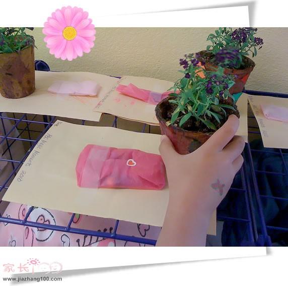 幼儿园老师钮扣粘贴画图片