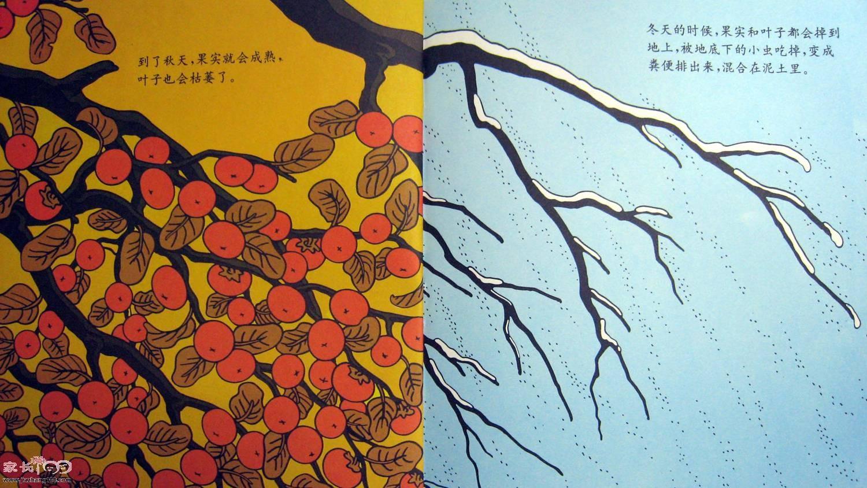 叶子制作各种图画